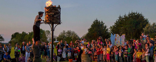 Beacon Lighting at the Lantern Parade