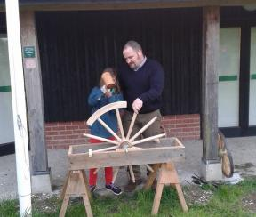 Making the wheel with the wheelright